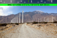 1 - PALM SPRINGS WIND MILL Roads